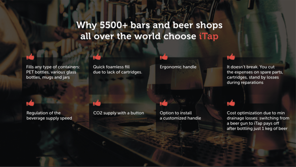 Why 5500+ bars and breweries all over the world choose iTap.